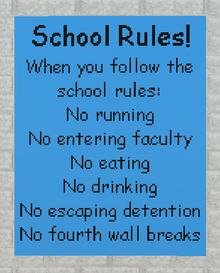 Schoolrrules