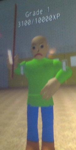 Roblox Baldi Pants Code Player Baldi Baldi S Basics Roblox Wiki Fandom