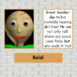 Baldi's page in detention