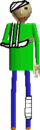 Injured Baldi