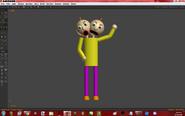 Two-Heads Baldi Anim8or version