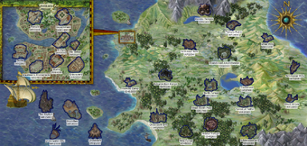 World Map Baldur S Gate Wiki Fandom