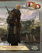 Murder in Baldur's Gate (launch weekend) Cover