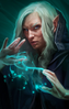 Wizard (female) YANNER2 Portrait GoH2