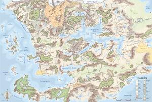 Faerun Map