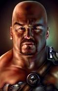 Human (male) MAN1 Portrait BG1