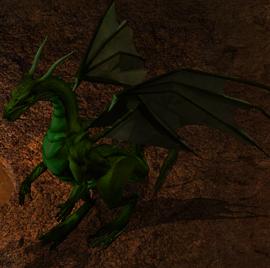 Fll'Yissetat dragon NPC BG2