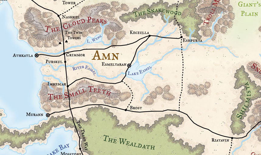 Amn Baldurs Gate Wiki FANDOM Powered By Wikia - World map with countries and capitals wiki