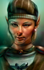 Mordaine WOMAN1 Portrait BG1