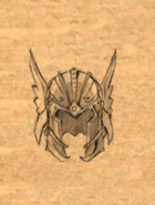 Helm Winged item artwork BG2