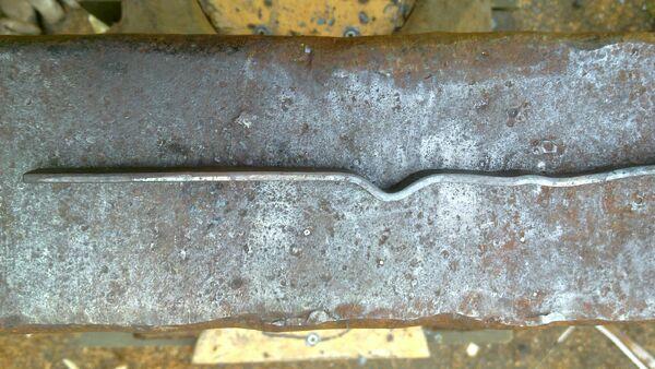 Forging cheiroballistra trigger - 01