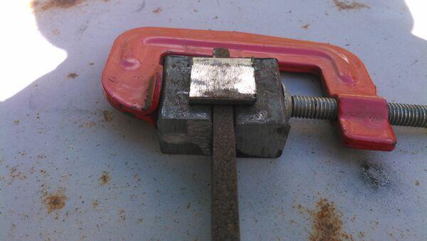 Making a pi-bracket forging tool - 04