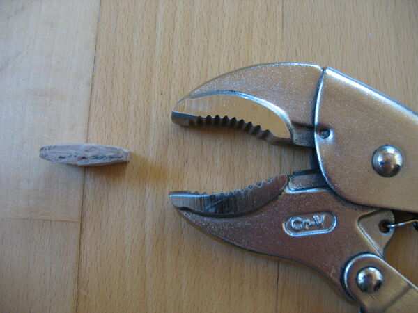 Modifying locking pliers for clip usage - 04