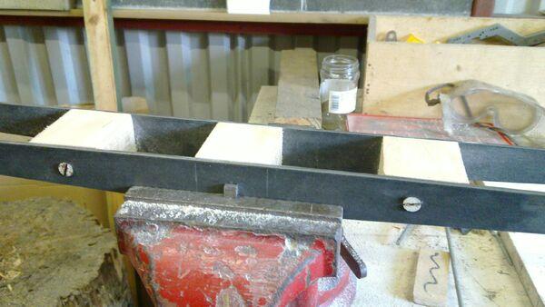 Assembling the little ladder - 09
