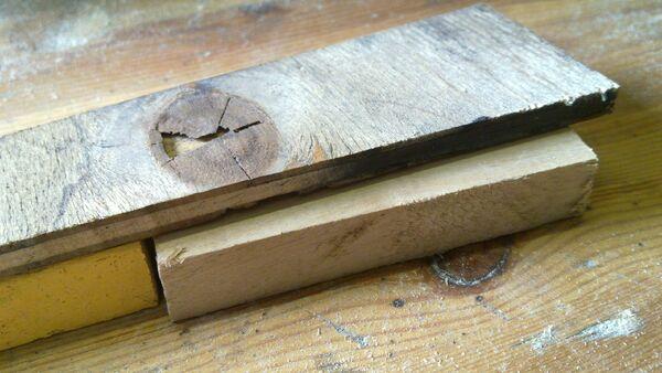 Making a wedge-sawing helper - 06