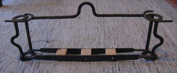 Field-frames, little ladder and little arch - 01