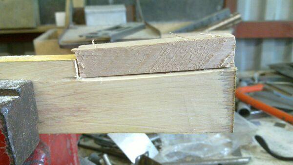 Making a wedge-sawing helper - 05