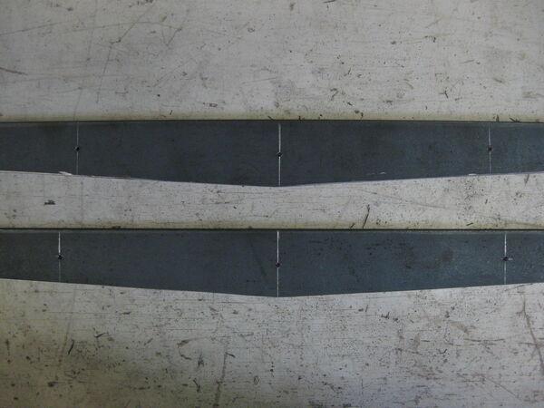 Making little ladder beams - method 1 - 04