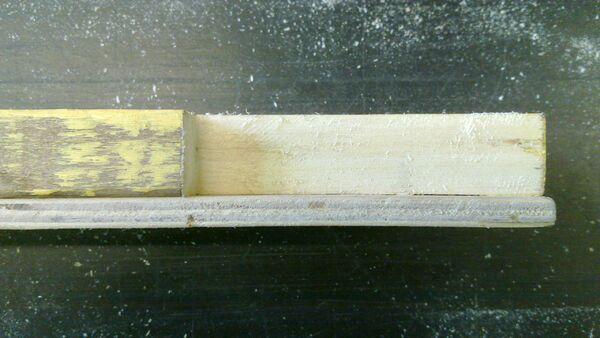 Making a wedge-sawing helper - 07