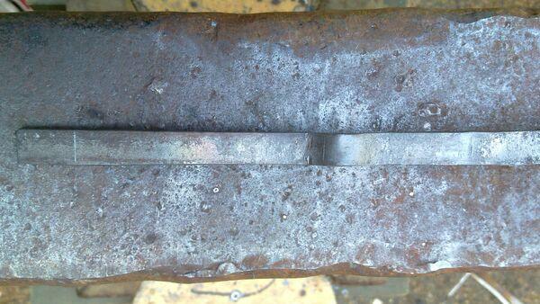 Forging cheiroballistra trigger - 02