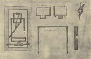 Triggering mechanism - Codex P fol. 69 recto - Schneider 1906