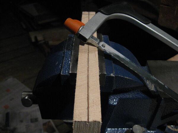 Making cheiroballistra arms - 02