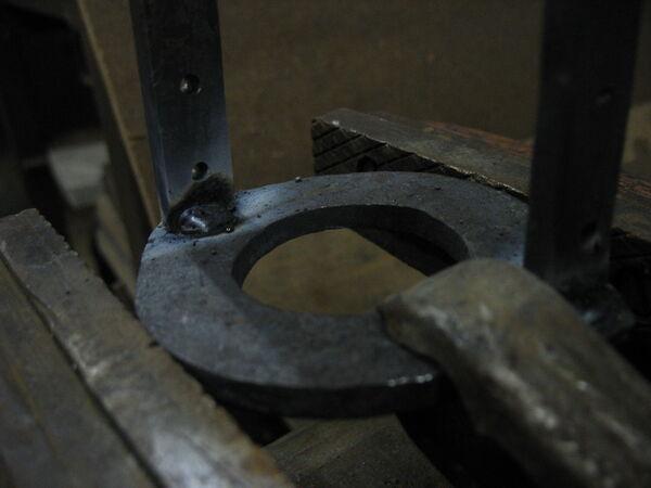 Welding field-frames together - 03