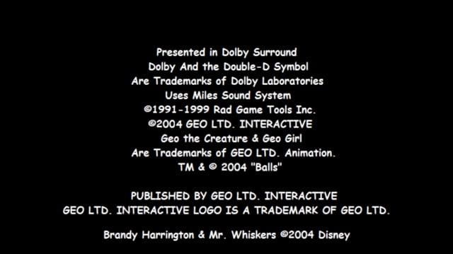 Geo's Bad Fur Day Opening (PS2)