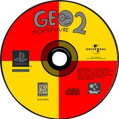 The PlayStation disc