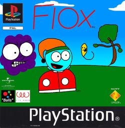 Fiox PS1 cover PAL