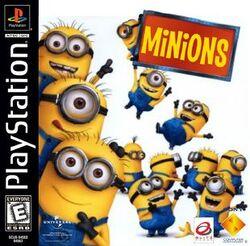 Minions PS1 cover NTSC