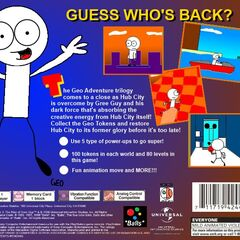 PlayStation back cover