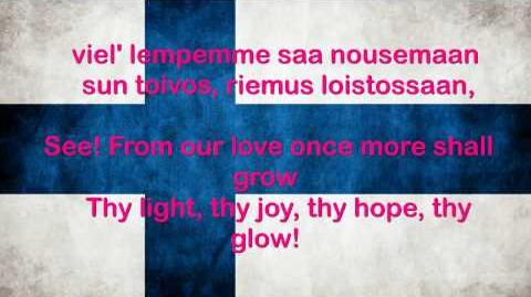 Finland National Anthem English lyrics
