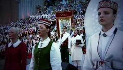 """""""Dievs, svētī Latviju"""" National anthem """"God bless Latvia"""""""