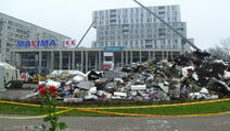 Riga Maxima supermarket collapse