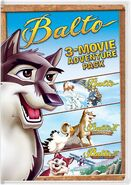 Balto 3-Packs Movies DVD