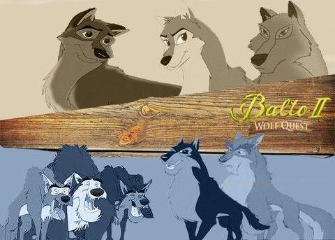 Болто 2- в поисках волка