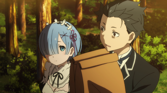 File:Subaru and Rem - Re Zero Anime BD - 2.png