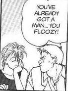 Max tells Ash you've already got a man you floozy