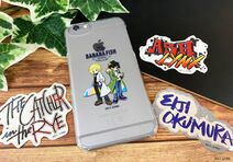 BANANA FISH Cafe and Bar - winter in NY (Phone Case Merch)