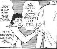 Sing tells Ash to save his buddies