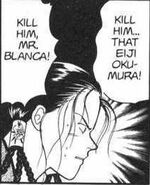 Yut-Lung orders Blanca to kill Eiji