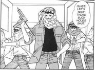 Sing and his gang disguised