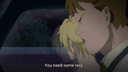 Max tells Ash that he needs some rest