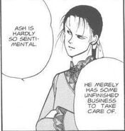 Yut-Lung tells Sing that Ash has some unfinished business to take care of