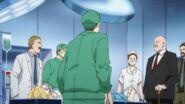 Golzine steps into the operation room