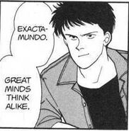 Sing compliments Eiji