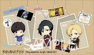 Banana Fish Story memories Acrylic stand Vol 3