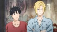 Eiji tells Ash where did you...
