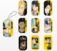 Banana Fish Dog tag Style charm